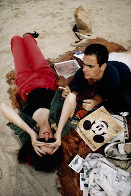 Nan Goldin  - C.Z. and Max on the Beach, Truro, Massachusetts, 1976