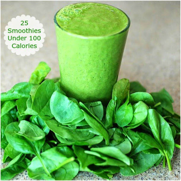 Smoothies Under 100 Calories | Becky Cooks Lightly
