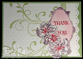 Everything Eleanor Thank You Card by Bekka www.feeling-crafty.co.uk