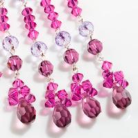 цвет года 2014 Radiant Orchid сияющая орхидея кристаллы Preciosa фуксия модные украшения дизайн