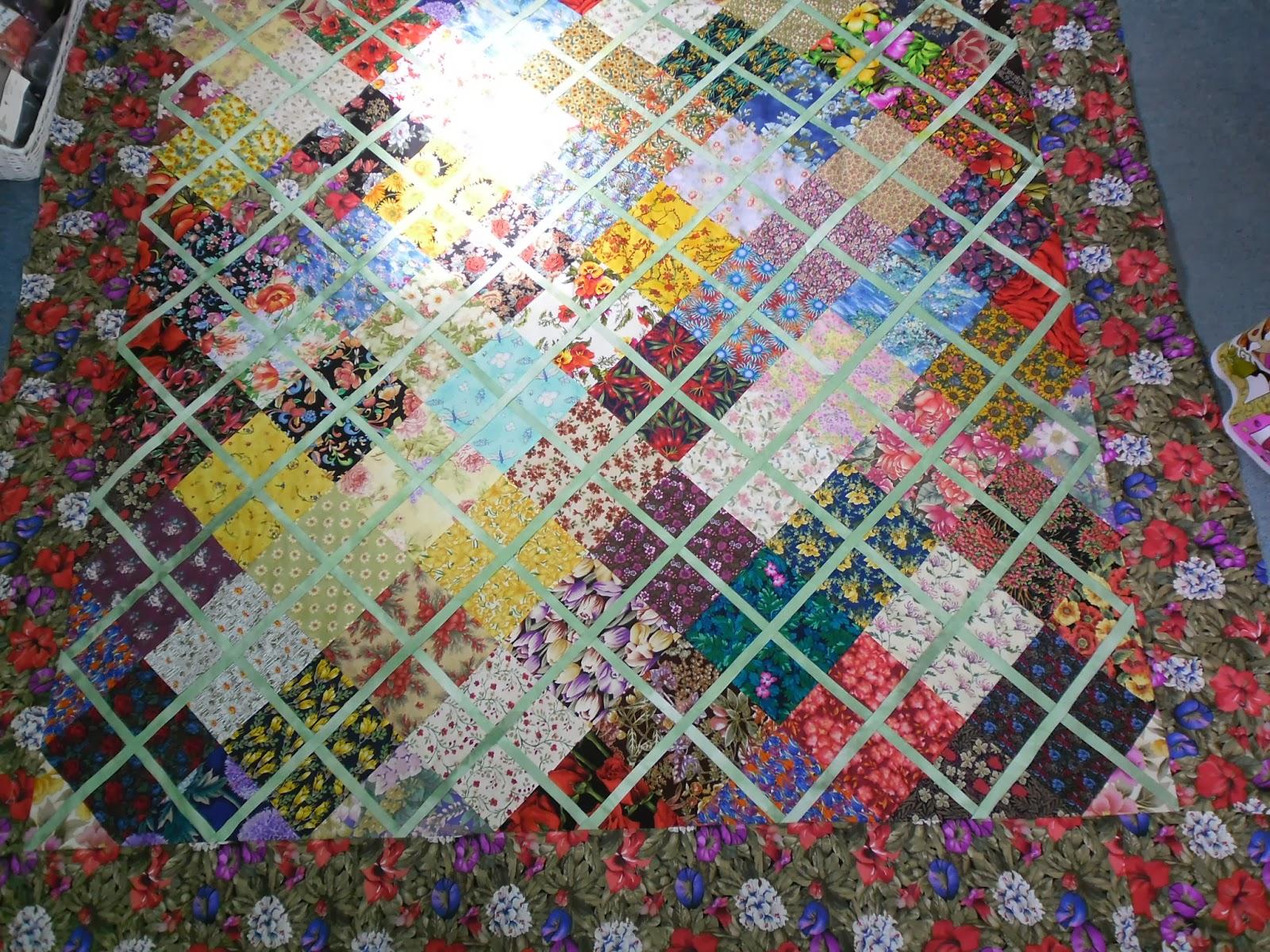 Village books and crafts patchwork craft classes for Garden trellis designs quilt patterns