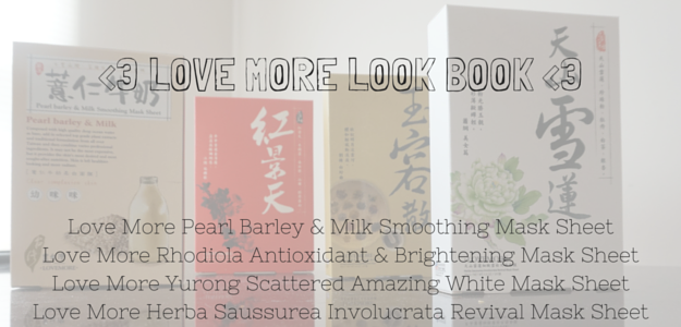 love more taiwanese silk sheet masks pearl barley & milk smoothing yurong scattered amazing white mask sheet rhodiola antioxidant & brightening herba saussurea involucrata revival mask sheet Reviews