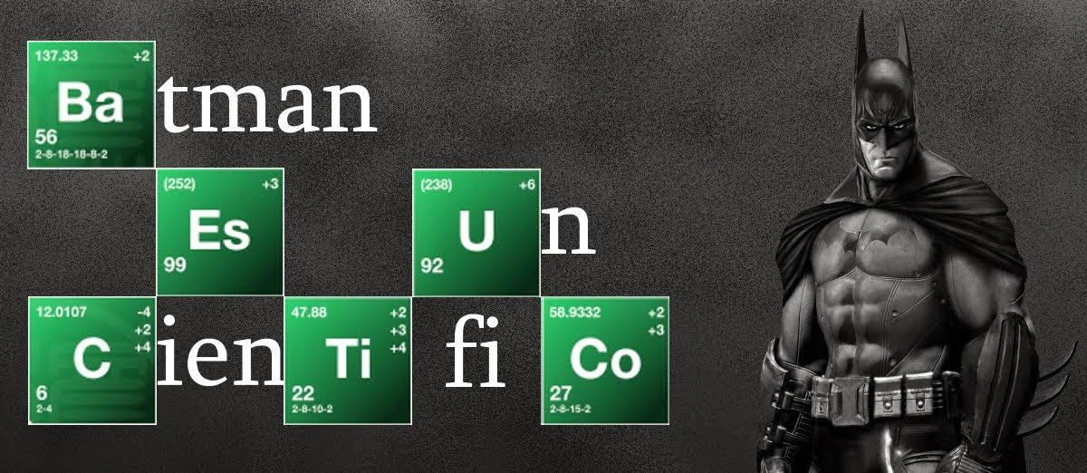 Batman es un científico