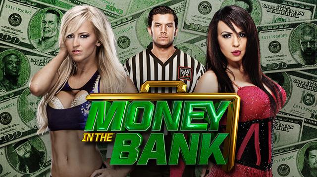 la bellisima summer rae se enfrenta a la leyenda y reconocida diva Layla, lucha de divas por el dinero en el banco