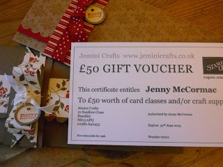 Stampin up Gift Voucher