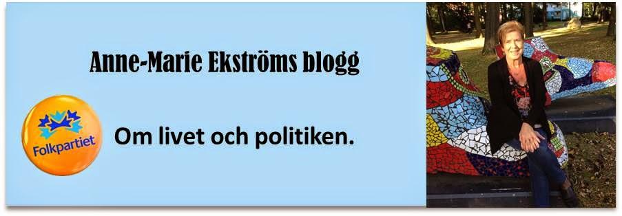 Anne-Marie Ekströms blogg