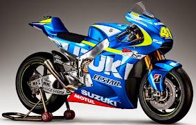 Tampilan Motor GSX-RR Team Suzuki Ecstar MotoGp 2015