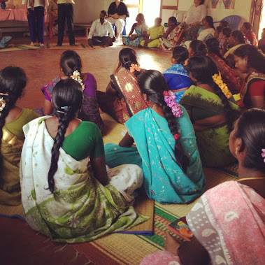 Women's workshop in Irumbai