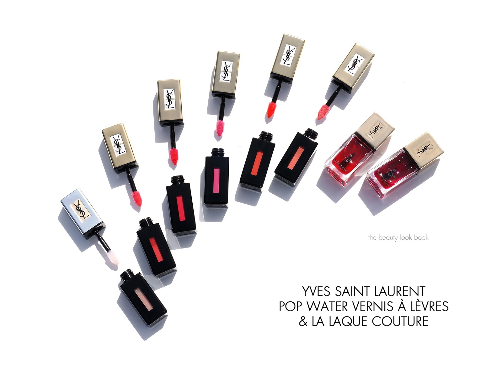 Coloring book yves saint laurent - Yves Saint Laurent Pop Water Collection New Glossy Stains And Nail Lacquers