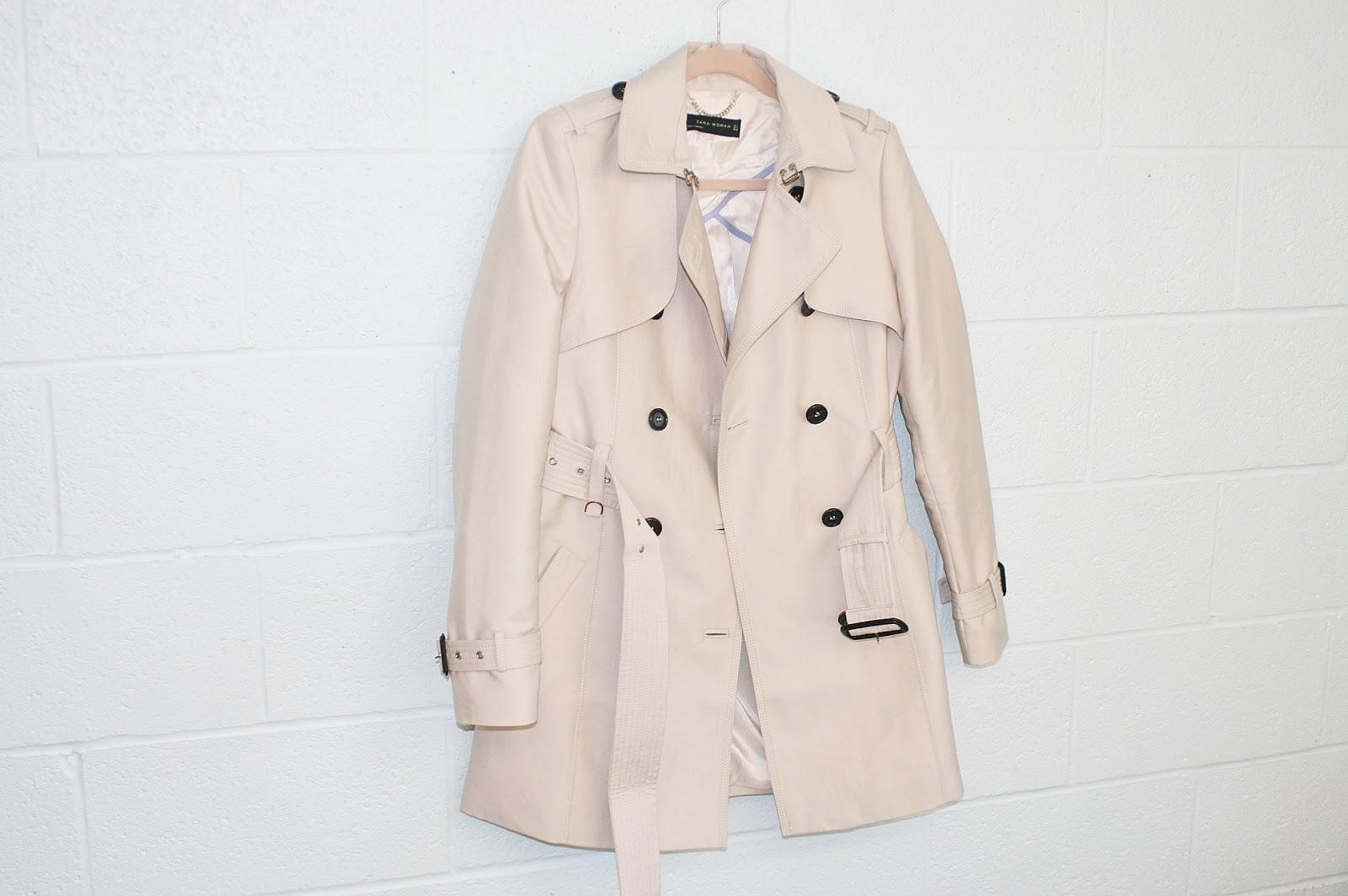 Katherine Penney Chic Trench Coat Zara