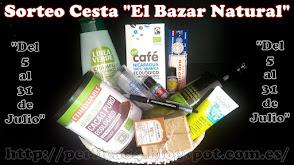 """Sorteo Cesta """"El Bazar Natural"""""""