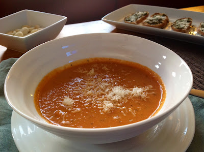 Healthier Roasted Tomato Soup