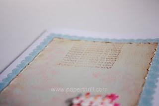 Handmade Birthday love notes greeting card
