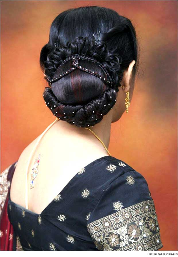 Back Bun Hairstyles | Wedding/Bridal hair Styles