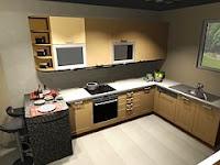 Tiga Prinsip Dasar Mendesain Dapur Di Rumah Anda