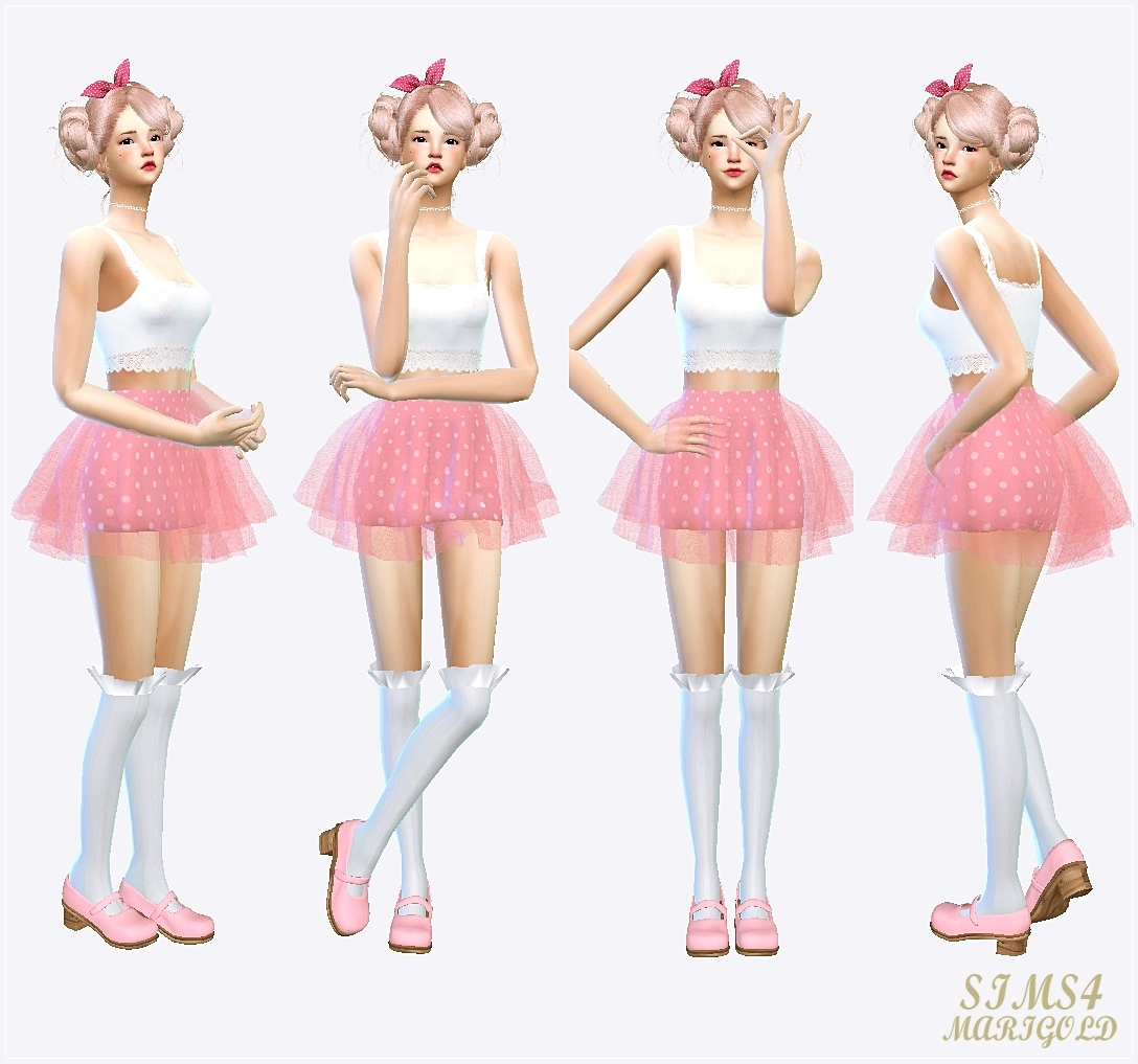 my sims 4 blog skirts by sims 4 marigold