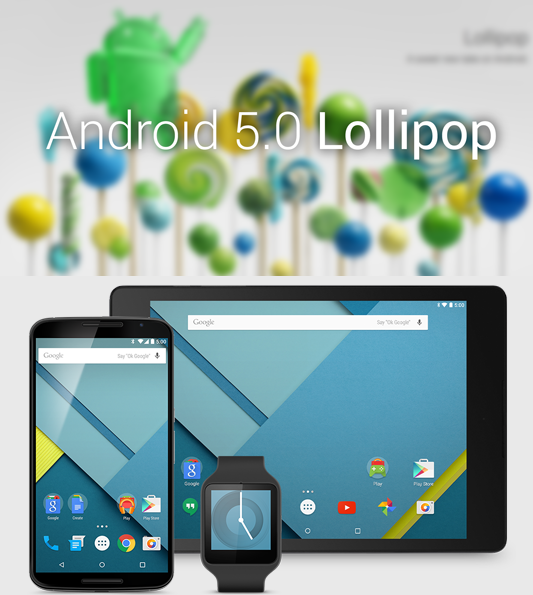 Download & Install Android 5.0 Lollipop Developer Preview On Nexus 5 & Nexus 7