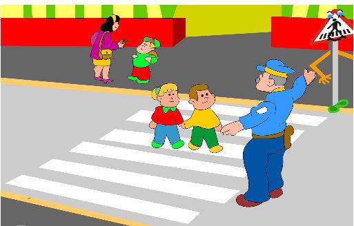 Dibujos de la Seguridad Vial ~ Dibujos para Niños