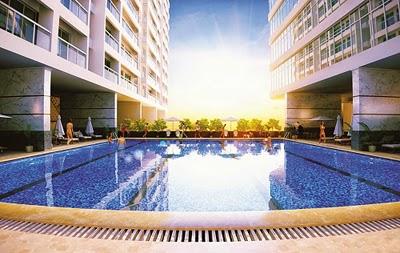 Bể bơi Park View Residence cao cấp ngoài trời