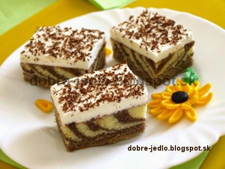 Mramorový koláč - recepty