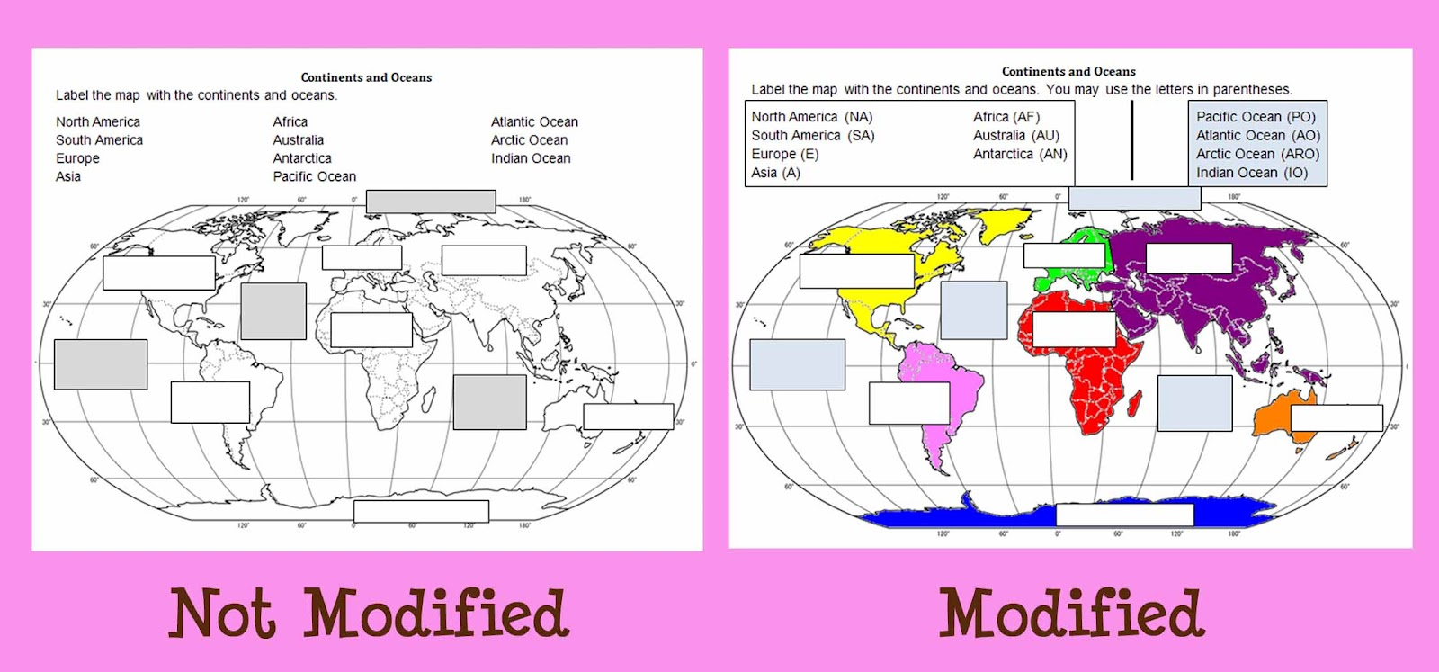 Worksheets Label The Continents And Oceans Worksheet worksheets continents and oceans quiz worksheet 4th grade for sure modify accommodate okay if students