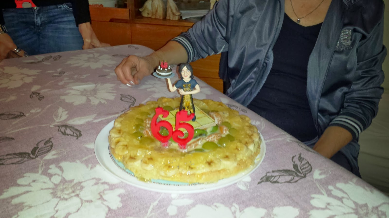 Cake topper mamma 7