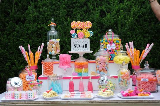 oh!myWedding: Ideas para una Candy Bar original / Ideas for a ...
