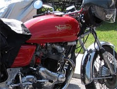 A Pretty Red Norton