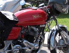 A Pretty Red Norton
