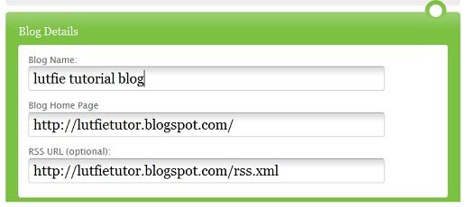 Optimasi Blog Menggunakan Ping