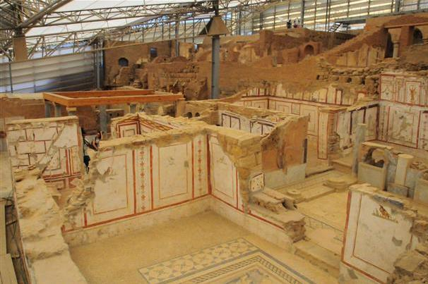 Work on 'terrace houses' at Ephesus completed