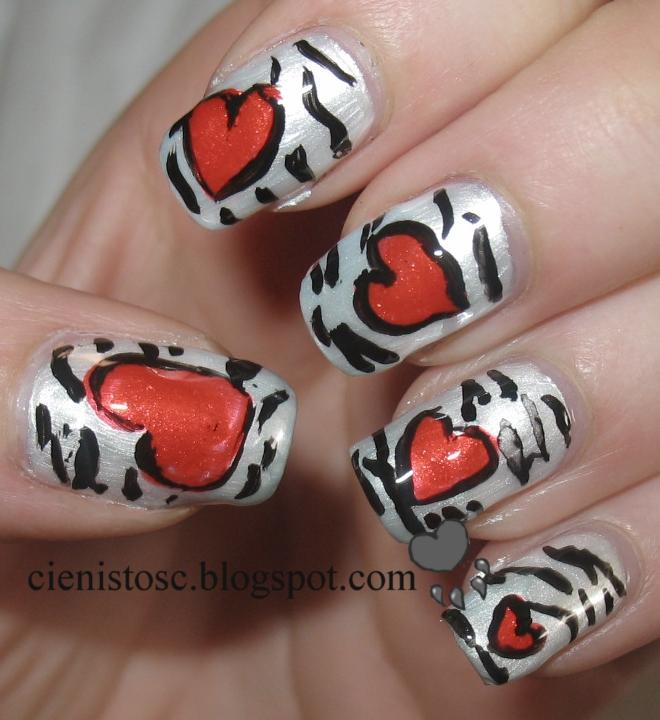 Zakochana zebra