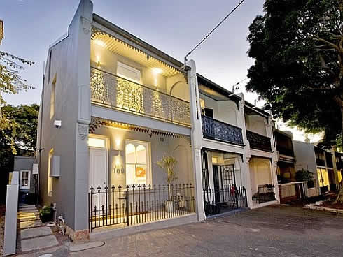 Creativedesign mind blowing 19th century terrace house in for Terrace white