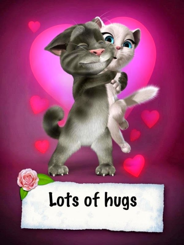 lots of hugs hug day 2015 happy valentines day 2015 - Happy Valentines Day Animation