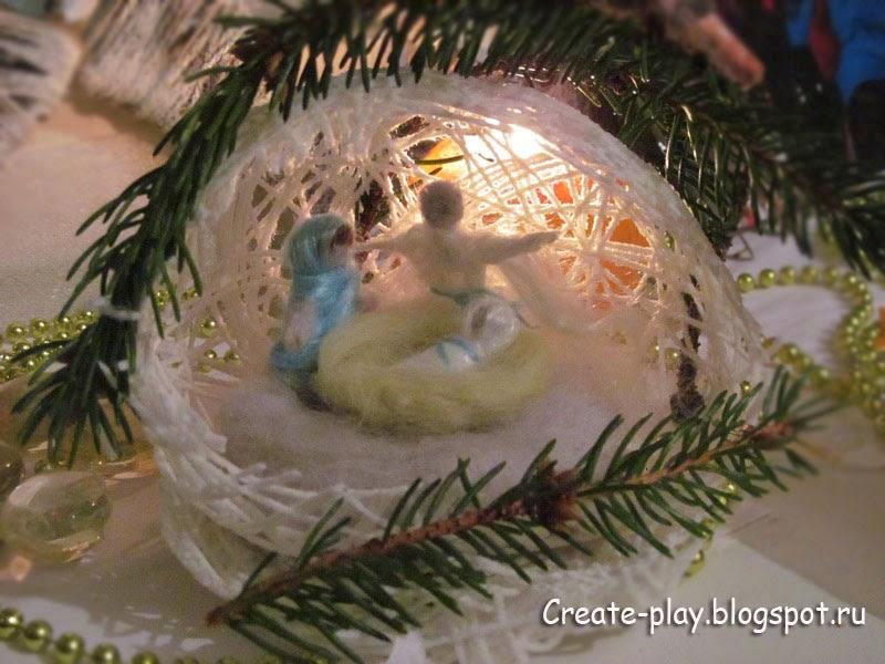 Рождественский вертеп свалять