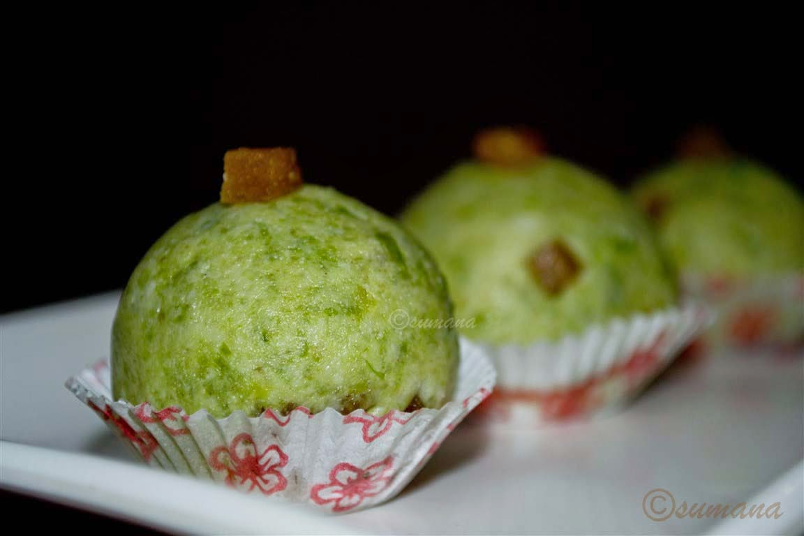 easy sandesh recipe with green peas and kalakand