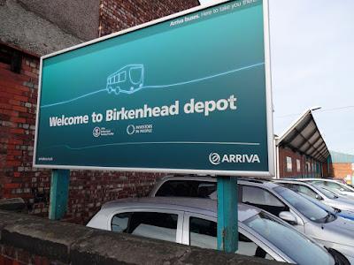 Arriva Birkenhead Bus Depot