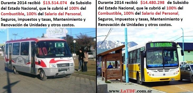 Subsidiados el 100%