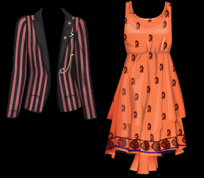 Stardoll Free Girl Meets World items - GMW Jacket and Dress