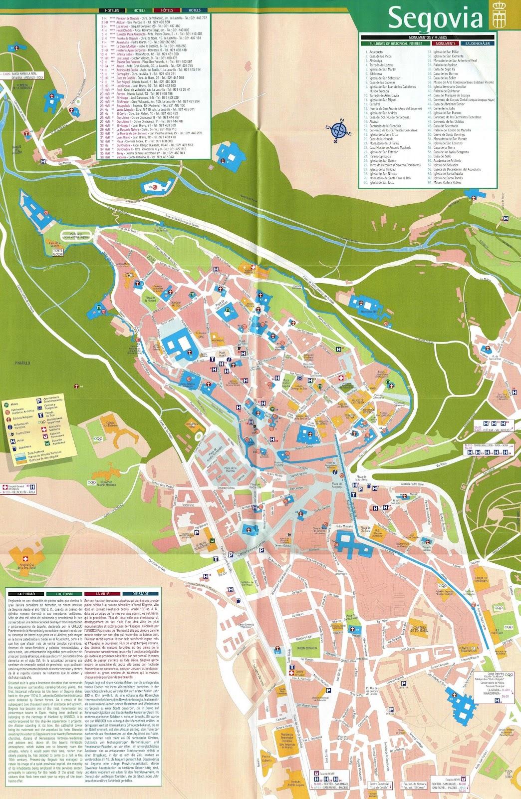 Viajando por europa ruta gastronomica castilla le n for Segovia oficina de turismo