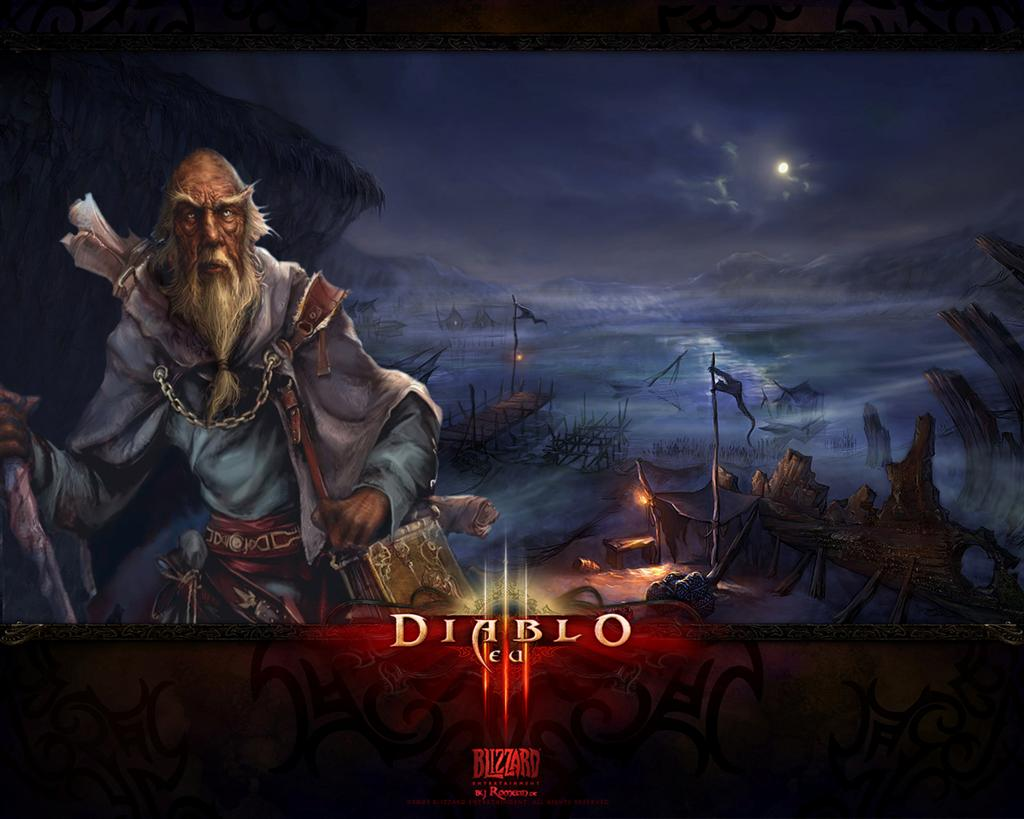 Diablo HD & Widescreen Wallpaper 0.376279959723218