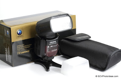 Triopo Speedlight TR-982 High Speed Sync Flash w/ accessories