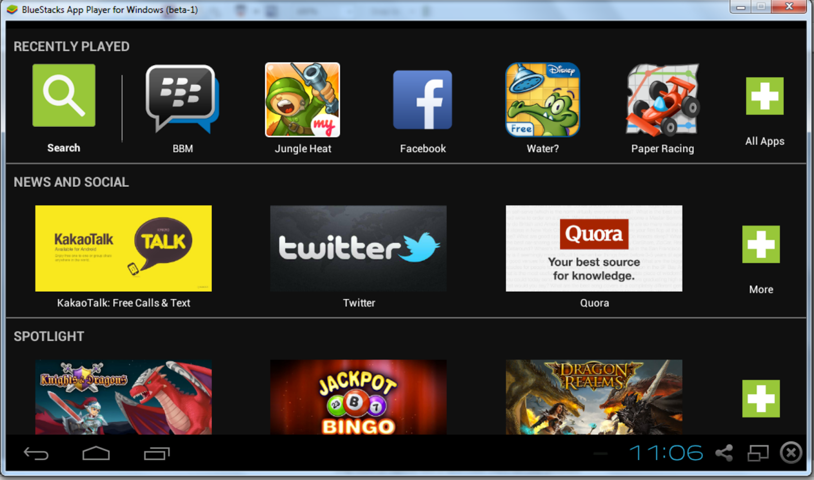 INstal Android di laptop dengan Bluestacks