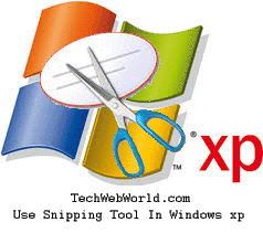 snipping tool in windows xp