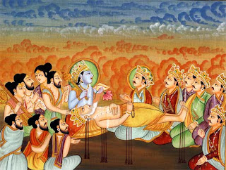 The Death of Bhishma