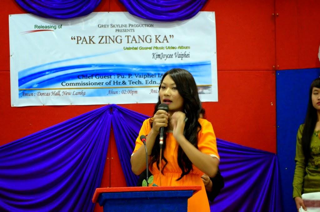 Kim Joycee Vaiphei -  'Pak Zing Tang Ka' hongkhia