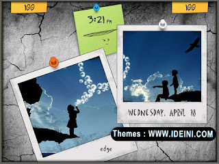 Download Tema Blackberry Keren Paraloid Frame