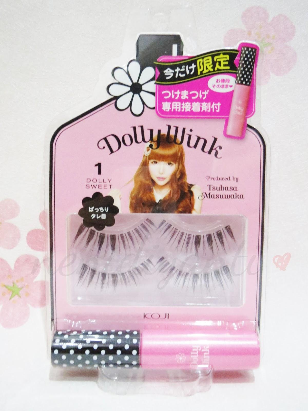 Kawaii Fuku Dolly Wink False Eyelashes 1 Dolly Sweet