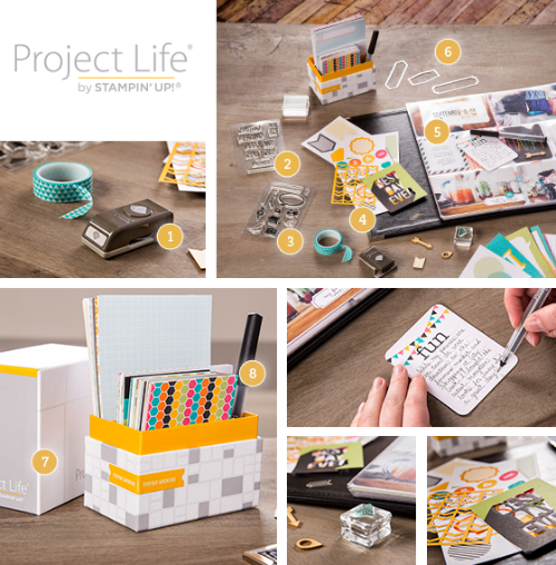 Project Life by Stampin' Up! product images