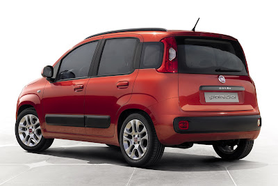 New Fiat Panda 2012 side view